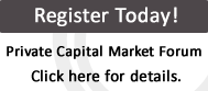 Private Capital Market Forum